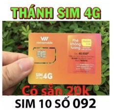 Sim 3G/4G tỷ GB tốc độ 3G không mất tiền