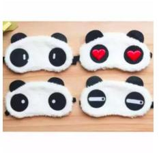 Tấm Bịt Mắt Ngủ Hình Gấu Panda – Màu ngẫu nhiên