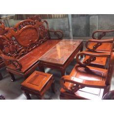 Bộ bàn ghế guột gỗ nhãn