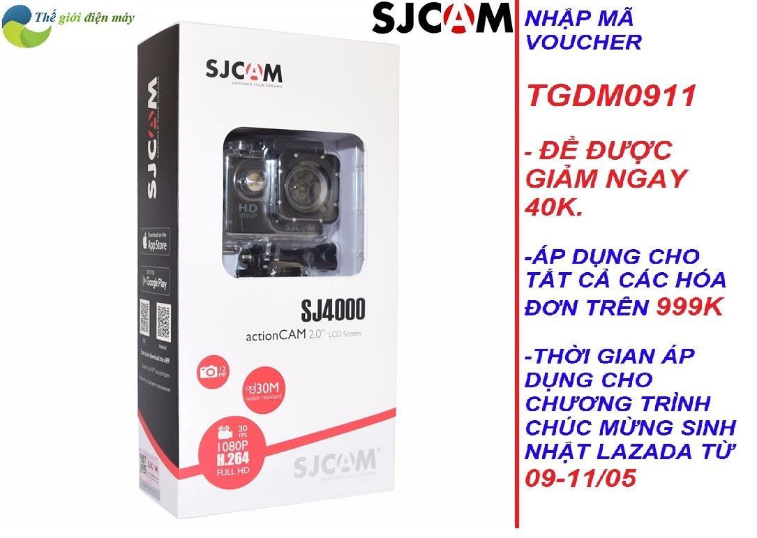 Camera hành trình SJCAM SJ4000 wifi 2 inch