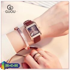 Đồng hồ nữ G-8089 dây da cao cấp