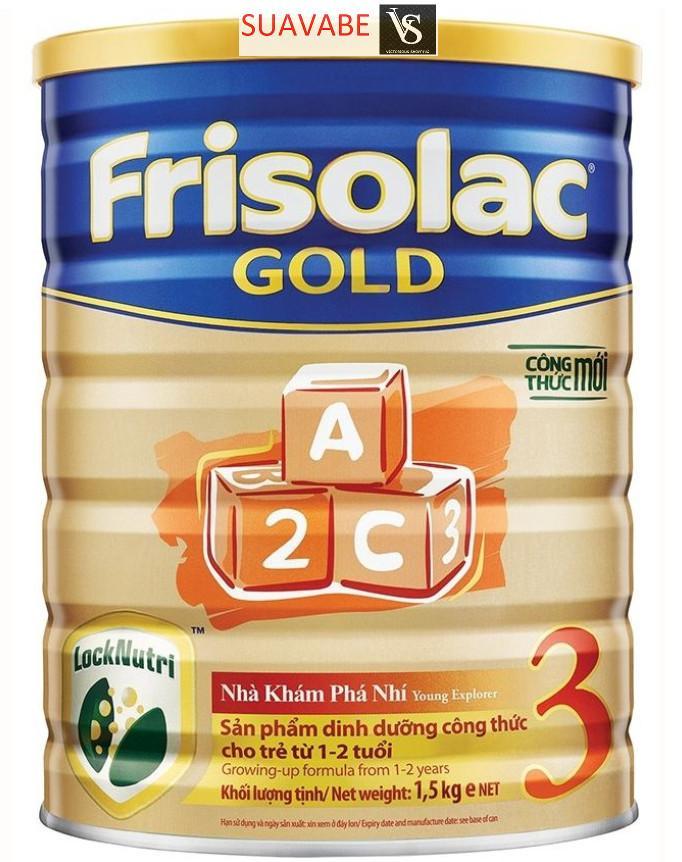 Sữa Bột Friso Gold 3 1500g (Công thức mới LOCK-NUTRI)