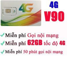 SIM V90 VIETTEL 4G 60GB/THÁNG, MIỄN PHÍ GỌI NỘI MẠNG