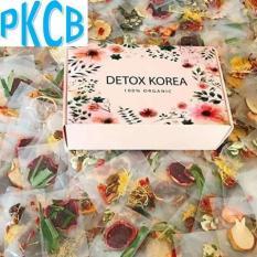Hộp 30 Set Gói Trà Detox hoa quả sấy khô giảm cân, DETOX KOREA (ảnh thật) – PKCB