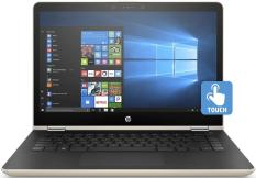 Laptop HP Pavilion X360 14-ba129TU (3MR85PA)_Core i5-8250U_4GB_1TB_Win10_Vàng