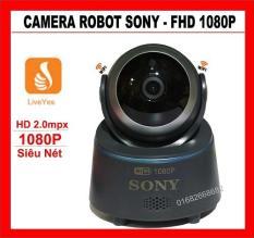 Camera Wifi Robot thông minh Sony – Full HD 1080P