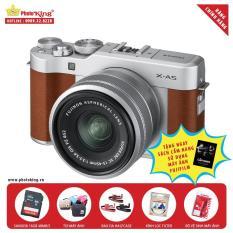 Fujifilm X-A5 KIT XC 15-45mm F/3.5-5.6 OIS PZ (Brown) + Full Combo Quà tặng – Hãng Phân phối chính thức