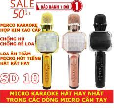 """Micro Bluetooth Karaoke,Loa Cầm Tay Hát Karaoke,Mua Micro Karaoke Loai Nao Tot – """" Mua Ngay Micro Kèm Loa Bluetooth Karaoke Sd-10, Hát Và Nghe Cực Hay, Chất Lượng Tốt, Giảm Giá 50% Hấp Dẫn, Sbuyplus Phân Phối Và Bảo Hành Toàn Quốc """""""