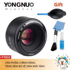 Ống Kính Yongnuo YN 50mm F1.8 For Canon Chính hãng (Tặng bộ vệ sinh máy ảnh)