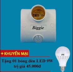 Đui đèn cảm ứng chuyển động thế hệ 2-TZ 2702-Nhanh hơn,Nhạy hơn- Tặng kèm 1 bóng LED