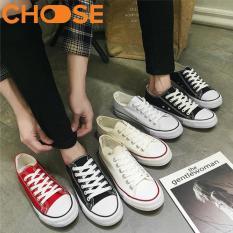 (Giao Hàng Nhanh) Bata Nam Giày Mọi, Giày Lười Vải Màu Trắng, Đen Phong Cách Hot 2018 0202