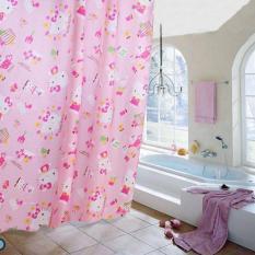 Rèm treo Satin 1m8 x2m dành cho nhà tắm