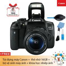 Máy ảnh Canon EOS 750D + Lens Kit EF S18-55 IS STM ( Chính hãng Canon Lê Bảo Minh)
