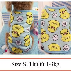 Váy cho chó mèo – váy cho thú cưng – Quần áo chó mèo 020 Size S từ 1_3kg