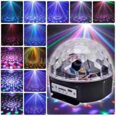 Đèn LED vũ trường cảm ứng nhạc có remote và USB