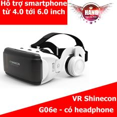 Kính 3D VR Shinecon G06e kèm headphone