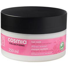 Kem ủ tóc Cosmia tinh dầu hoa hồng tự nhiên 250ml