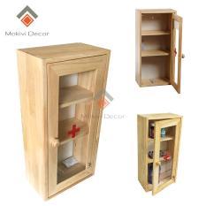 Tủ thuốc y tế quan trọng cho mọi gia đình (ĐƠN 1 CÁNH) – vật dụng thiết yếu cho mọi nhà – tủ thuốc gỗ đẹp trang trí