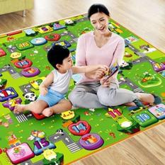 Thảm chơi 2 mặt loại I cho bé Maboshi Size 1m8x2m