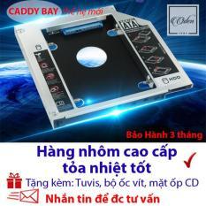 Caddy Bay 9.5mm SATA 3.0 gắn thêm ổ cứng cho Laptop – oden432