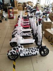 Xe đạp điện mini yên đôi E-Scooter 2018 – Xe điện mini giá rẻ