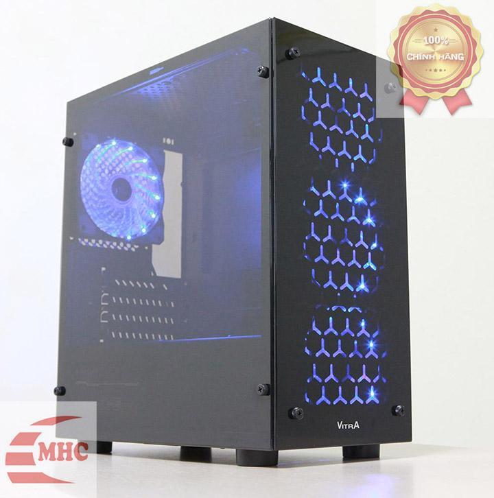 So sánh giá Case máy tính Vitra Victoria V4 kèm 1 FAN Blue LED – HÀNG CHÍNH HÃNG Tại Minh Hạnh Computer