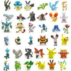 Bộ 144 tượng Pokemon GO cao 2-3cm 3TI 91(Be)