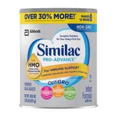Sữa Similac Pro advance NON GMO – HMO cho bé từ 0 – 12 tháng tuổi, loại 873g của Mỹ