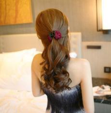 Kẹp tóc hoa hồng cực yêu PDL01