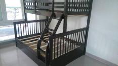 Giường tầng gỗ tự nhiên xuất khẩu Bella GT-128