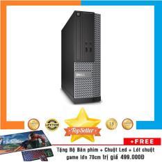 Máy tính chơi Game Dell Optiplex 3020 SFF Nguyên Bản, Chạy Pentium G3250, Ram 8GB, HDD 3TB + Bộ Quà Tặng