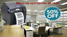 Máy in hóa đơn mã vạch Xprinter XP-365B công nghệ IN NHIỆT mới , Dễ dùng, Tiết kiệm chi phí, Máy in mã vạch nhiệt, In mã vạch , BẢO HÀNH UY TÍN