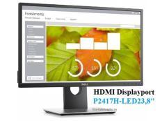 Màn hình Dell E2417H 23.8inch Công nghệ IPS , Wide ,LED ,Full HD Hàng do FPT nhập khẩu và Phân phối