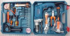 Máy khoan động lực Bosch 910W kèm Bộ dụng cụ 30 chi tiết