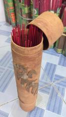 Ống Đựng Nhang Bằng Võ Quế (32cmx7cm)