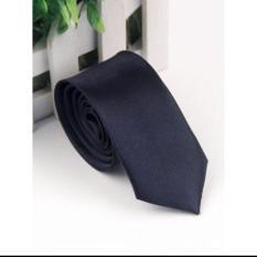 (SIÊU RẺ) Cavat màu đen bản 5cm kiểu dáng hàn quốc