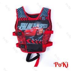 Phao bơi trẻ em, áo phao bơi CAR (Bé từ 2 – 10 tuổi), chất liệu tiêu chuẩn EU cao cấp – POKI