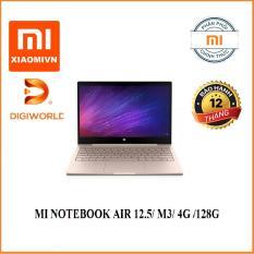 Laptop xiaomi MI NOTEBOOK AIR 12.5/ M3/ 4G /128G/ BẠC (SILVER)/ VÀNG (GOLD) – Digiworld phân phối