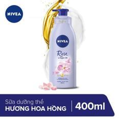 Sữa Dưỡng Thể Hương Hoa Hồng Nivea 400ml _ 88494