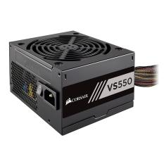 Nguồn Máy Tính 550W CORSAIR VS550 – CP-9020171-NA Đen