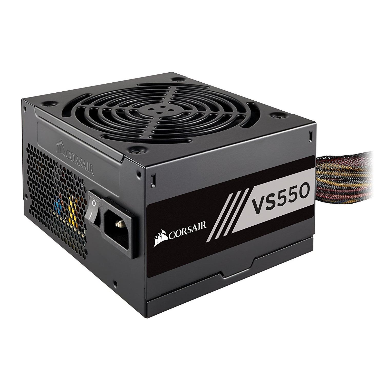 Nguồn Máy Tính 550W CORSAIR VS550 - CP-9020171-NA Đen
