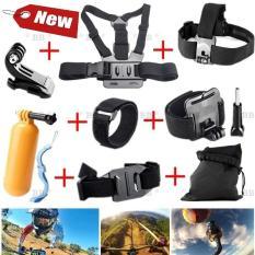 Bộ phụ kiện GOPRO, SJCAM 7 in 1 + FREE 1 phao nổi gắn camera, hàng thể thao chuyên dụng cao cấp cho dân phượt – BlingBling