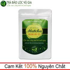 Matcha Oolong Nguyên Chất Bảo Lộc Vũ Gia ( 100g/ túi) – pha trà sữa, làm bánh, gia vị món ăn thanh nhiệt cơ thể và giảm cân an toàn