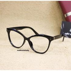 Gọng kính mắt mèo Shady G827 (Đen)
