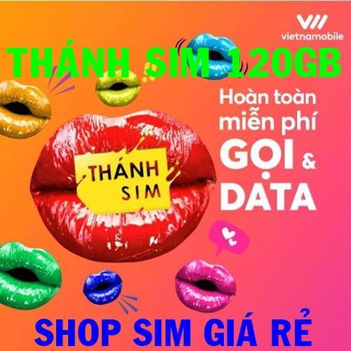 Thánh sim 3G Vietnamobile FREE 120Gb/tháng - Shop Sim Giá Rẻ - Thánh sim giá sỉ