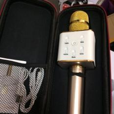 Micro karaoke Bluetooth thế hệ mới 2018 kiêm loa Q7 3 trong 1