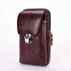 Túi đeo thắt lưng đựng điện thoại da thật TM16