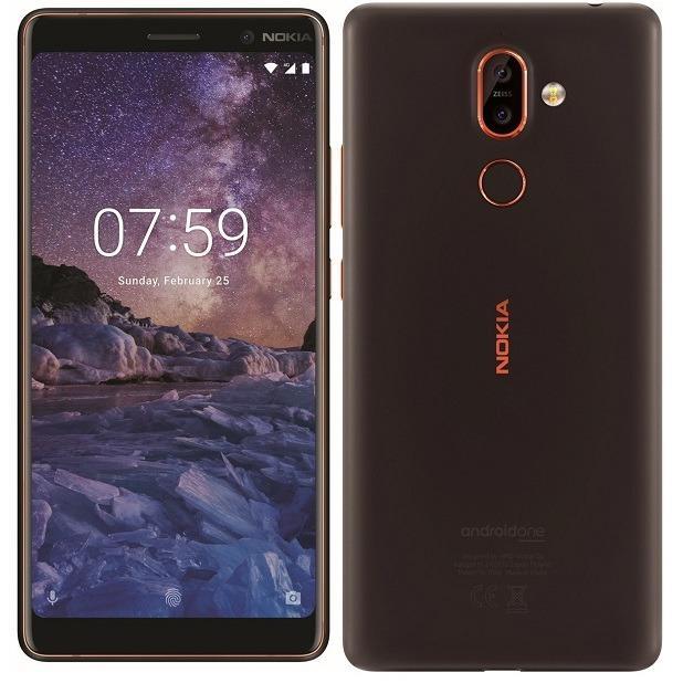Nokia 7 Plus 64GB Black - Hãng phân phối chính thức