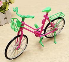 Xe đạp xinh xắn dành cho búp bê 30cm
