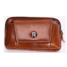 Túi đeo hông đựng điện thoại da thật 8TU 261